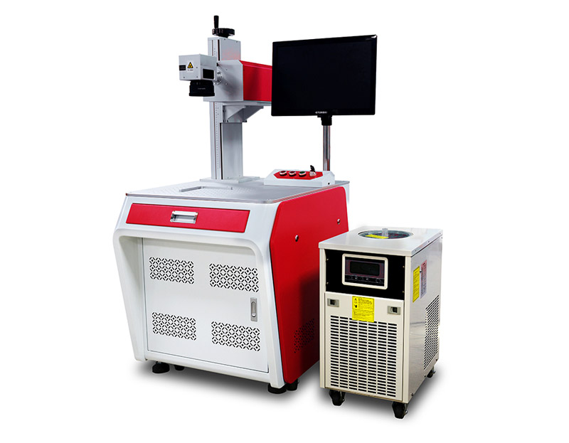 Glass material UV laser marking machine