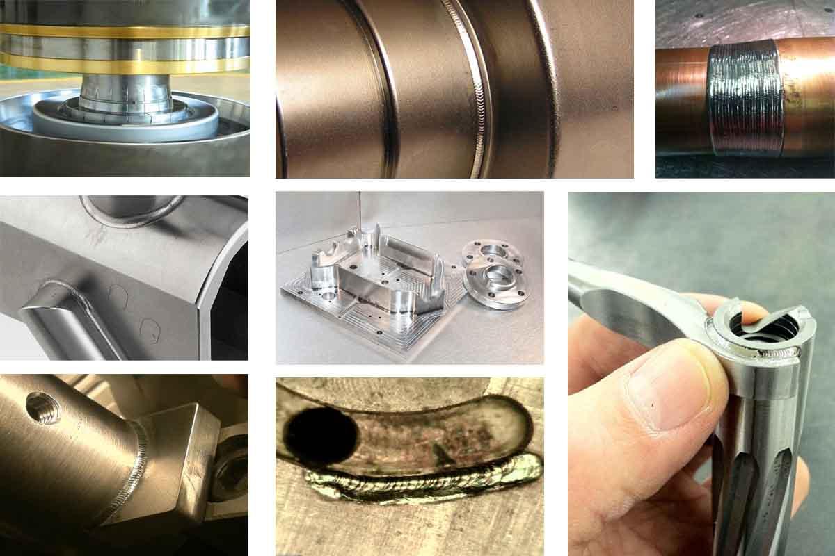 Mold and die repair laser welding machine