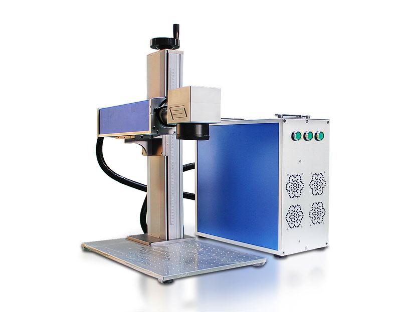 Split Fiber Laser Engraving Machine