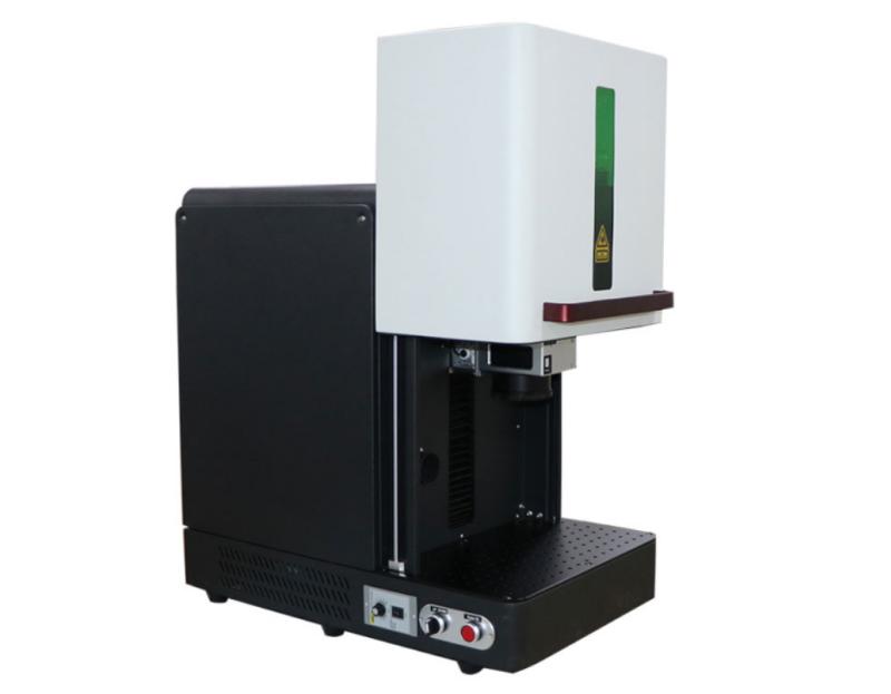 MINI type enclosed fiber laser marking machine