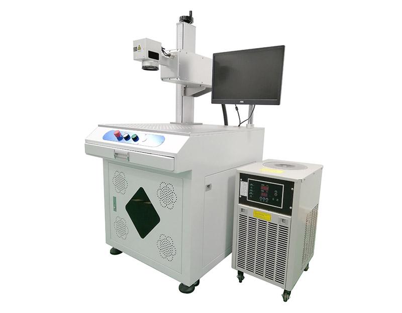 High contrast UV laser marking machine