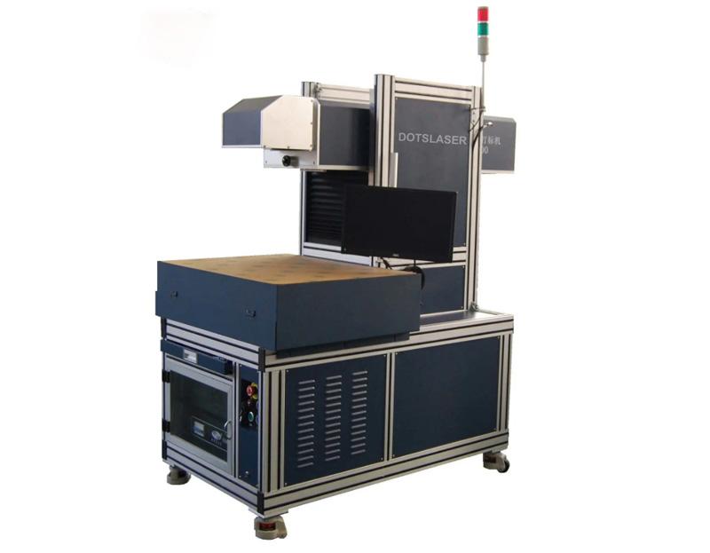 Co2 Laser Garments Marking Cutting Machine