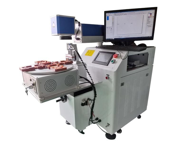 YAG galvo type fiber laser welding system